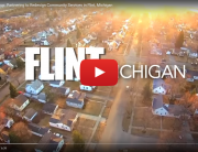 View of Flint, Michigan