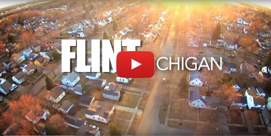 View of Flint, Michigan
