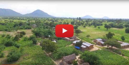 Drone footage over Tanzania