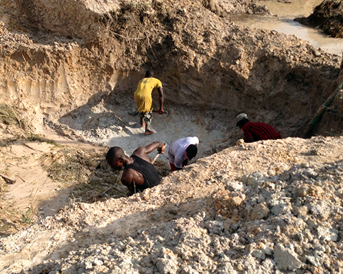 Impact Evaluation of USAID's Property Rights and Artisanal Diamond Development II in Guinea